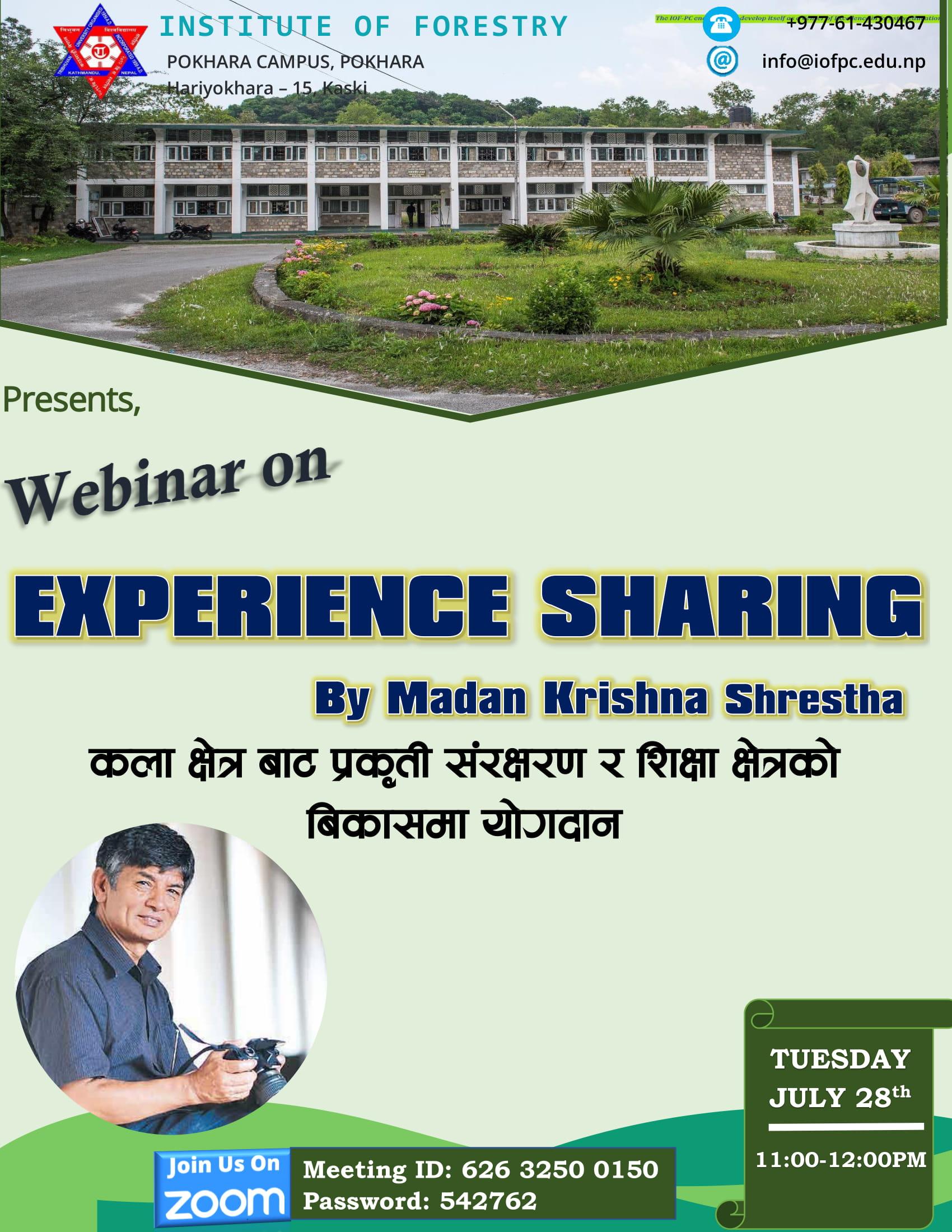 Experience-Sharing-by-Madan-Krishna-Shrestha