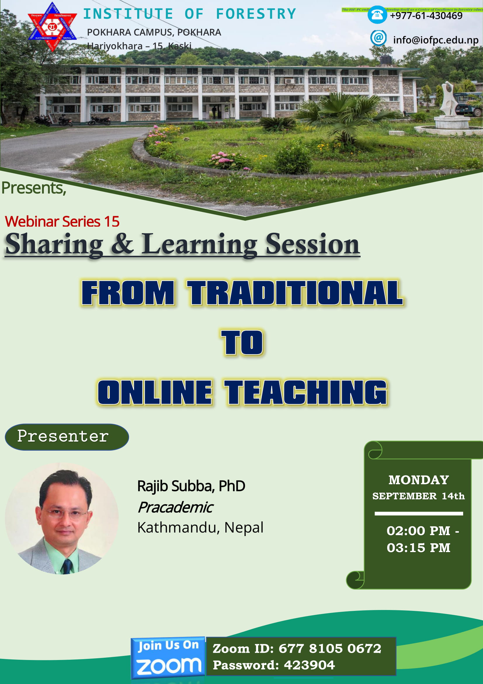 Traditional-to-Online-Learning