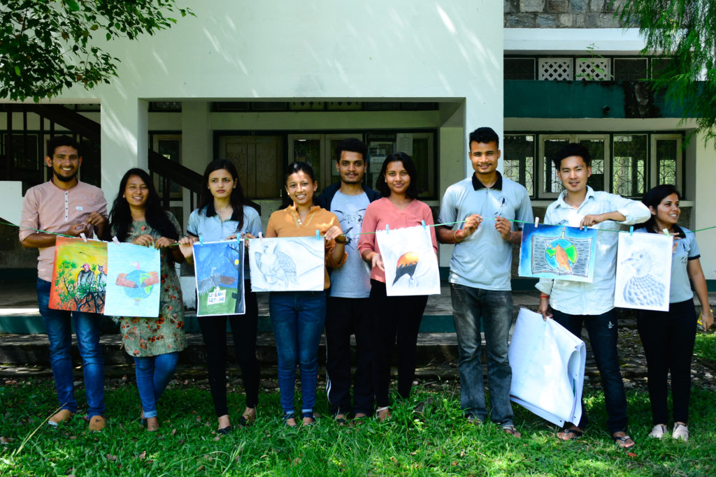 Vulture Awareness Week By PBS & BCN, Pokhara Branch