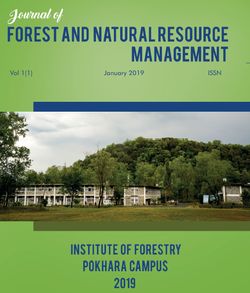 Journal of Forest and Natural Resource Management