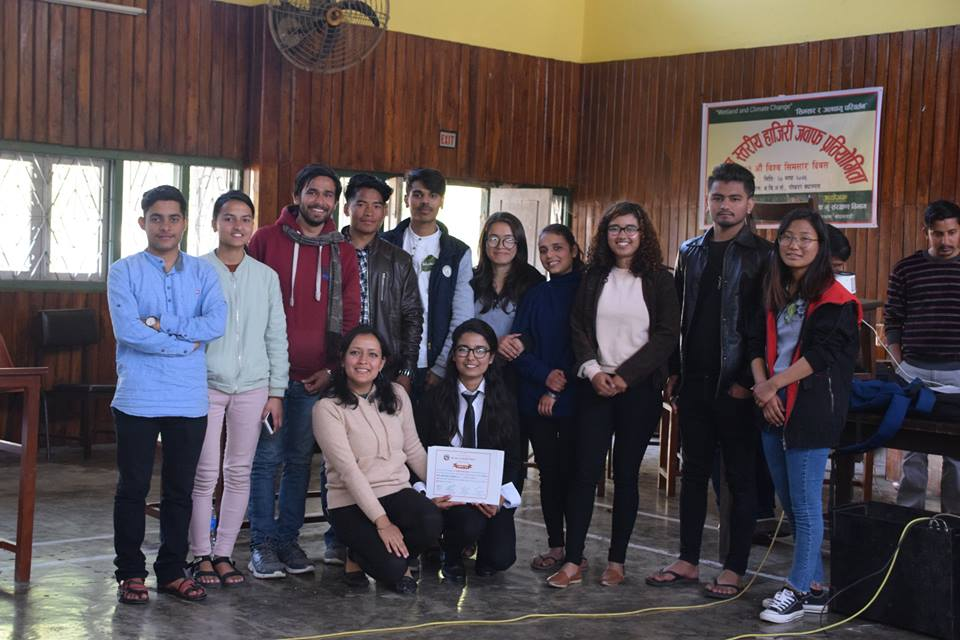 Intra-College Quiz Competition – World Wetlands Day Celebration